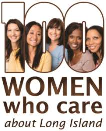 100 Women Who Care about Long Island Logo